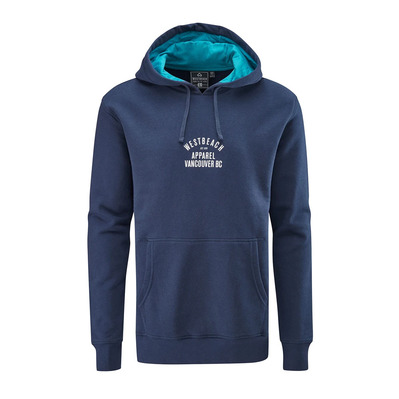 WESTBEACH - BC REVISITED OVERHEAD - Sudadera hombre navy