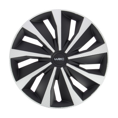 "WRC - 7499 16"" - Tapacubos x4 grey/black"