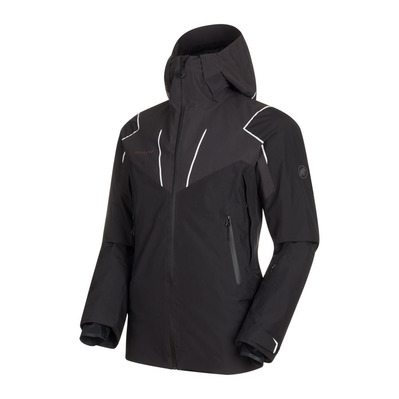 MAMMUT - SCALOTTAS - Ski Jacket - Men's - black/phantom