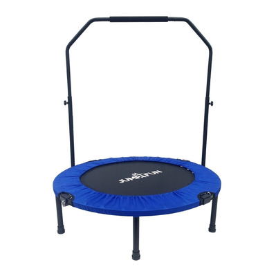 JUMP4FUN - DOUBLE-BAR 92cm - Mini tappeto elastico fitness blu