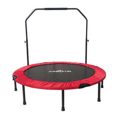 JUMP4FUN - DOUBLE-BAR 122cm - Mini tappeto elastico fitness bar rosso