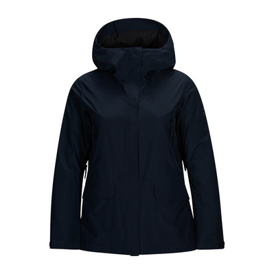 PEAK PERFORMANCE - BLIZZ - Giacca Donna blue shadow