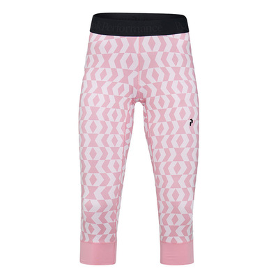 PEAK PERFORMANCE - SPIRIT SHORT JOHNS - Calzamaglia Donna pattern pink
