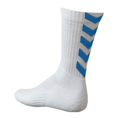 HUMMEL - AUTHENTIC INDOOR - Socks - white/royal blue