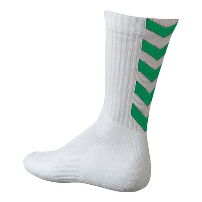 HUMMEL - AUTHENTIC INDOOR - Socks - white/green