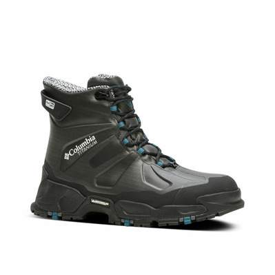 COLUMBIA - CANUK TITANIUM OMNI-HEAT 3D OUTDRY EX - Winter Boots - Men's - black/phoenix blue
