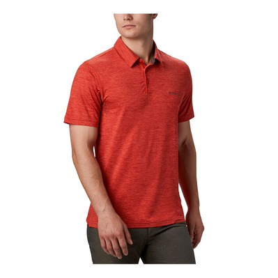 COLUMBIA - TECH TRAIL™ - Polo - Men's - wildfire