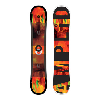 AMPLID - STEREO 17/18 - Snowboard all mountain/freestyle black