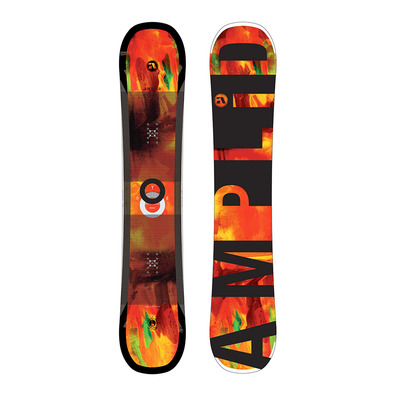 AMPLID - STEREO 17/18 - Snowboard all mountain/freestyle orange