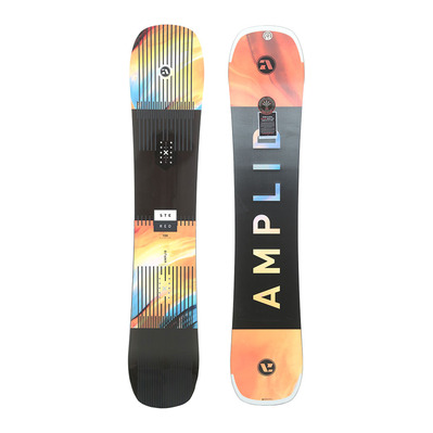 AMPLID - STEREO 18/19 - Snowboard all mountain/freestyle black