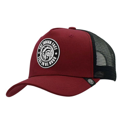 THE INDIAN FACE - BORN TO BE FREE - Casquette red/black