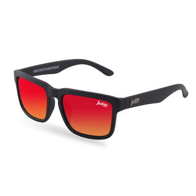 THE INDIAN FACE - POLAR - Polarised Sunglasses - black/red