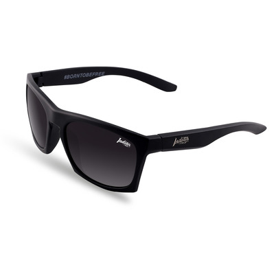 THE INDIAN FACE - BARREL - Polarised Sunglasses - black/black