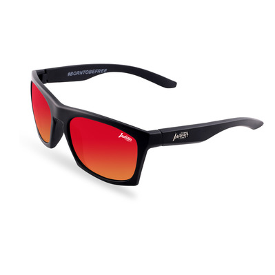 THE INDIAN FACE - BARREL - Polarised Sunglasses - black/red