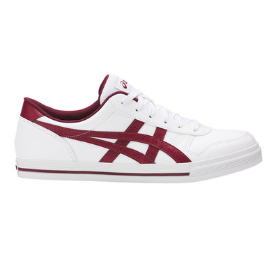 ASICS - AARON - Sneakers white/burgundy