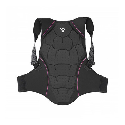 DAINESE - BACK PROTECTOR SOFT FLEX LADY - Back Protection - Women's - black/fuchsia purple