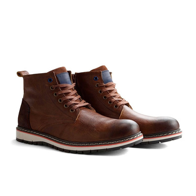 TRAVELIN' - MYKEN - Ankle Boots - Men's - cognac