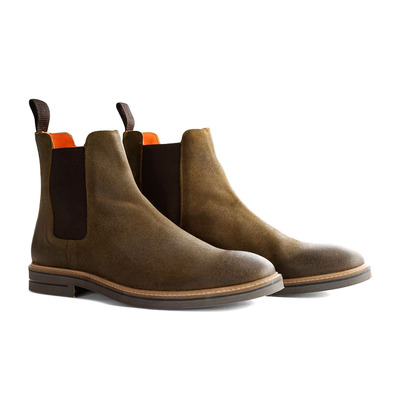 TRAVELIN' - NEWBURGH CHELSEA - Ankle Boots - Men's - green