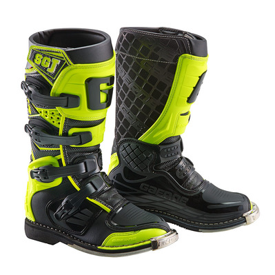 GAERNE - SG.J - Bottes off-road Junior yellow fluo/black