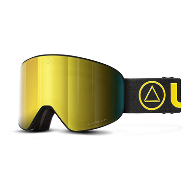 ULLER - AVALANCHE - Skibrille -  black/yellow