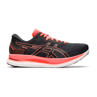 ASICS - GLIDERIDE TOKYO - Chaussures running Homme black/sunrise red