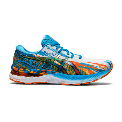 ASICS - GEL-NIMBUS 23 - Chaussures running Homme digital aqua/marigold orange