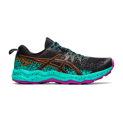 ASICS - FUJITRABUCO LYTE - Trail Shoes - Women's - black/baltic jewel