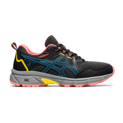 ASICS - GEL-VENTURE 8 - Trail Shoes - Women's - black/digital aqua