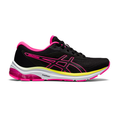 ASICS - GEL-PULSE 12 - Chaussures running Femme black/hot pink