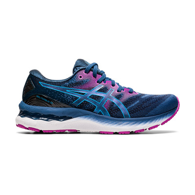 ASICS - GEL-NIMBUS 23 - Chaussures running Femme grand shark/digital aqua
