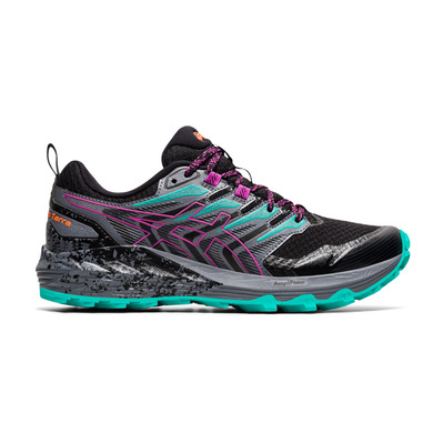 ASICS - GEL-TRABUCO TERRA - Chaussures trail Femme black/digital grape