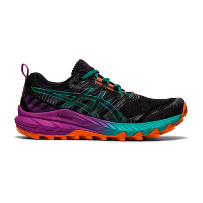 ASICS - GEL-TRABUCO 9 - Trail Shoes - Women's - black/baltic jewel