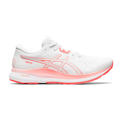 ASICS - EVORIDE TOKYO - Running Shoes - Women's - white/sunrise red