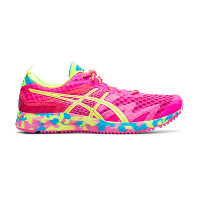 ASICS - GEL-NOOSA TRI 12 - Running Shoes - Women's - pink glo/safety yellow