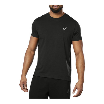 ASICS - SMALL CHEST LOGO - Tee-shirt Homme performance black