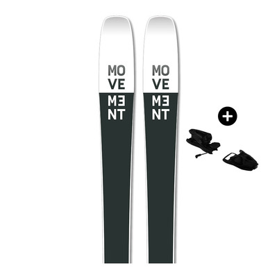 MOVEMENT - GO TI 90 - Pack skis all-mountain Homme