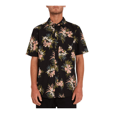 VOLCOM - FLORAL WITH CHEESE - Chemise Homme black