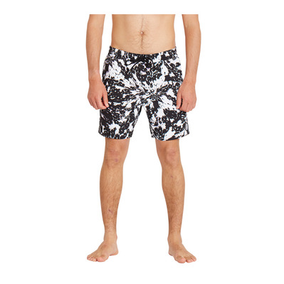 VOLCOM - EARTHLY DELIGHT TRUNK 17 - Swimming Shorts - Men's - white