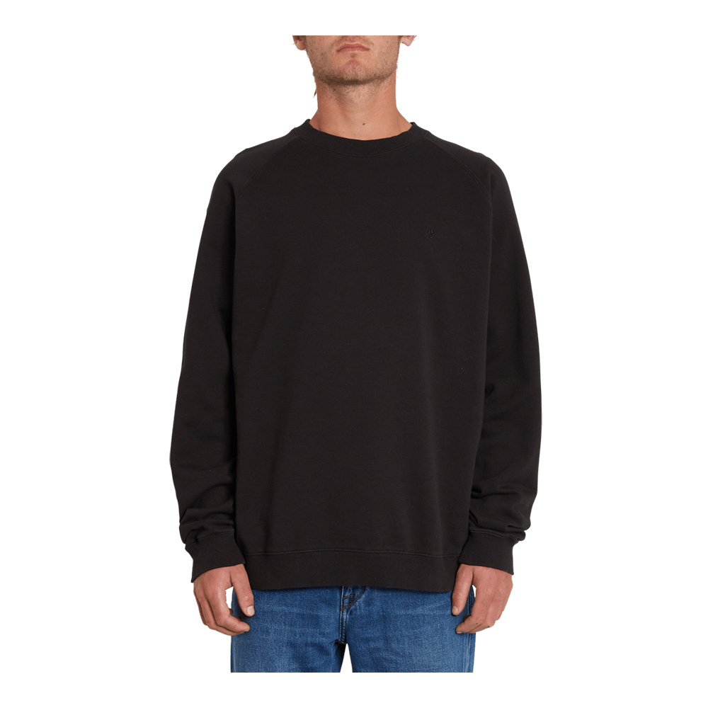 VOLCOM - Volcom FREELEVEN CREW FLEECE - Sweat Homme black