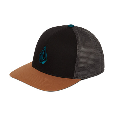 VOLCOM - FULL STONE CHEESE 110 - Casquette Homme golden brown