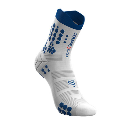 COMPRESSPORT - PRO RACING V3.0 TRAIL - Calcetines white/lolite