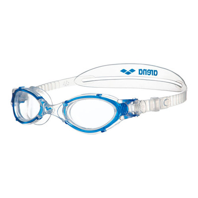 ARENA - NIMESIS CRYSTAL - Lunettes de natation clear/clear/blue