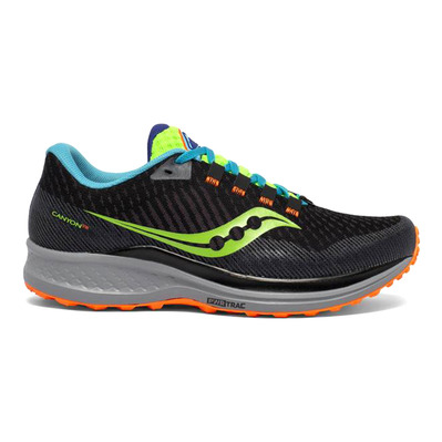 SAUCONY - CANYON TR - Chaussures trail Homme future black