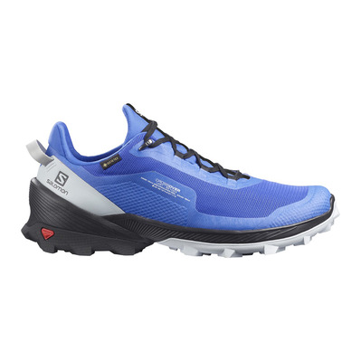SALOMON - CROSS OVER GTX - Zapatillas de senderismo hombre palace blue/black/pearl blue