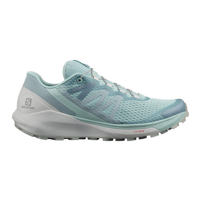 SALOMON - SENSE RIDE 4 - Trail Shoes - Women's - pastel turquoise/lunar rock/slate