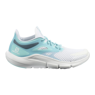 SALOMON - PREDICT MOD - Running Shoes - Women's - wht/wht/tanager turquoise