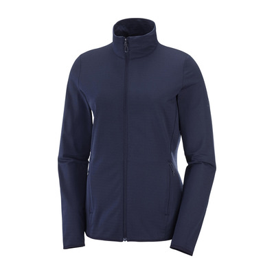 SALOMON - OUTRACK - Fleece - Women's - night sky