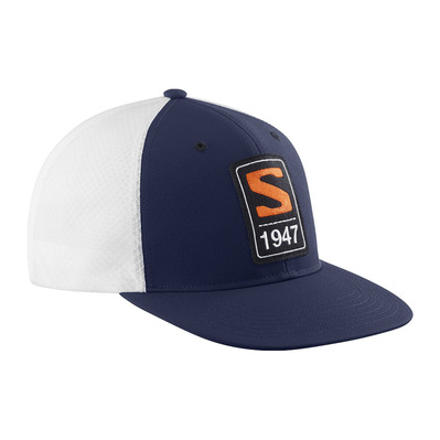 SALOMON - TRUCKER FLAT - Casquette night sky/night sky