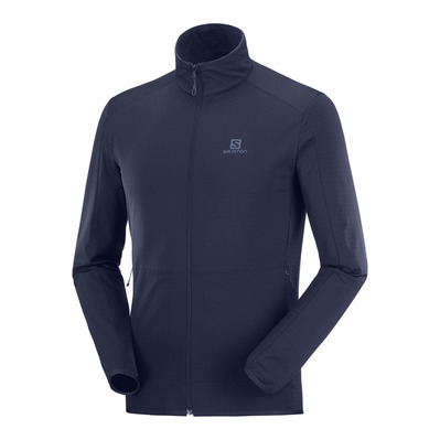 SALOMON - OUTRACK - Fleece - Men's - night sky