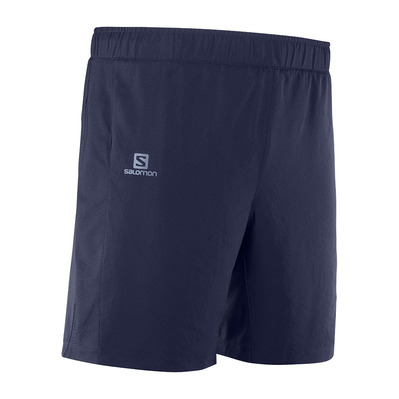 SALOMON - AGILE - 2 in 1 Shorts - Men's - night sky